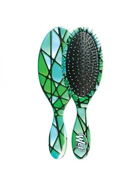 WetBrush Stain Glass Green plaukų šepetys
