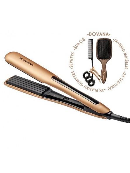 HH Simonsen ROD VS6 Gold Limited Edition apimties plaukams suteikiantis įrankis + DOVANA