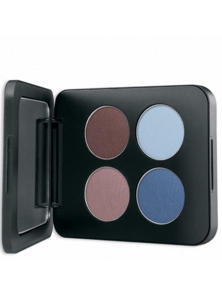 Youngblood kompaktiniai mineraliniai keturių spalvų šešėliai 4g