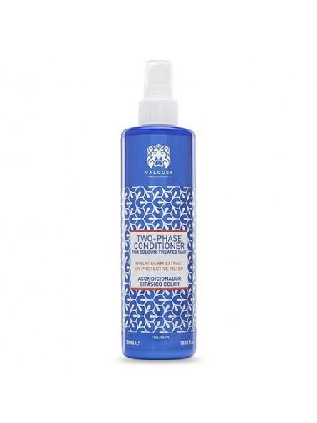 Valquer TWO-PHASE dvejopo poveikio nenuplaunamas kondicionierius dažytiems plaukams, 300 ml.