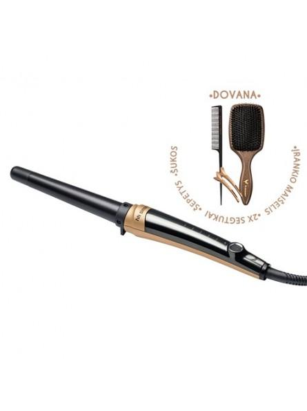 HH Simonsen ROD VS3 Gold Limited Edition plaukų garbanojimo įrankis + DOVANA