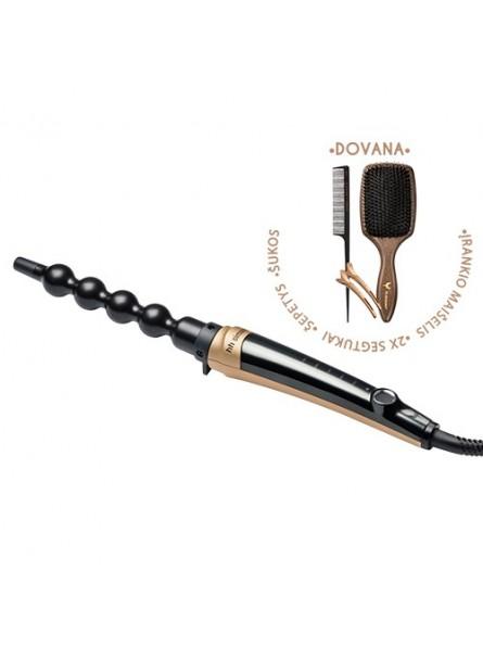 HH Simonsen ROD VS10 Gold Limited Edition plaukų garbanojimo įrankis + DOVANA