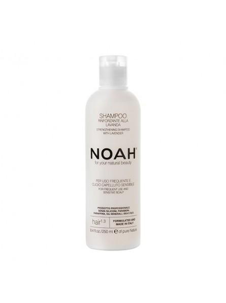 Noah 1.3 šampūnas kasdieniniam naudojimui, jautriai galvos odai, 250 ml.