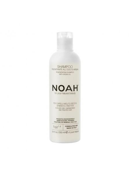 Noah 1.4 šampūnas sausiems ir chemiškai pažeistiems plaukams, 250 ml.