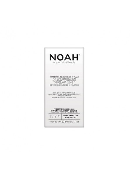 Noah 1.14 serumas jautriai, linkusiai pleiskanoti odai, 8x5 ml.