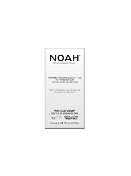 Noah 1.15 serumas silpniems plaukams, 8x5 ml.