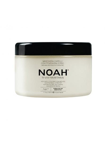 Noah 2.4 spalvą tausojanti kaukė dažytiems plaukams, 500 ml.