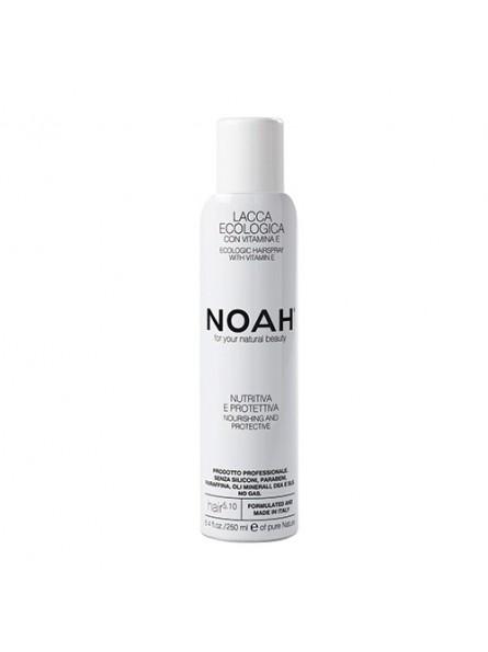 Noah maitinantis plaukų lakas su argano aliejumi ir vitaminu E, 250 ml.