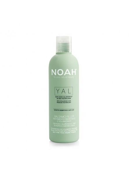 Noah YAL atkuriamasis ir purumo suteikiantis balzamas su hialurono rūgštimi  ir čiobreliais iš organinių ūkių, 250 ml.