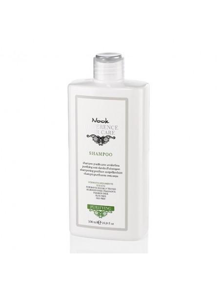 Nook Purifying valomasis šampūnas nuo pleiskanų, 500 ml.