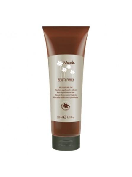 Nook Milk Sublime kaukė sausiems ir pažeistiems plaukams, 250 ml.