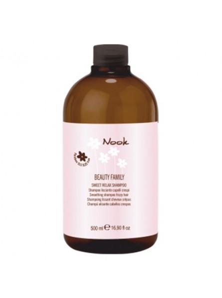 Nook Sweet Relax giliai drėkinantis, tiesinantis šampūnas, 500 ml.