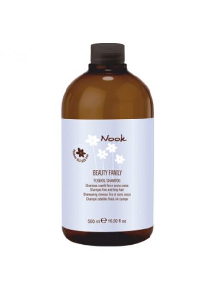Nook Fly & Vol purumo ir apimties suteikiantis šampūnas, 500 ml.