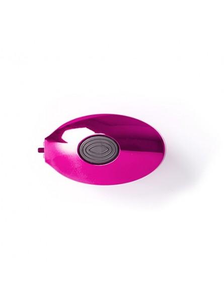 WETBRUSH POP&GO METALLIC sulenkiamas plaukų šepetys su veidrodėliu