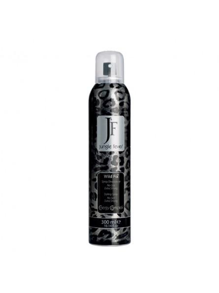 Jungle Fever Wild Fix stiprios fiksacijos plaukų lakas be dujų, 300 ml.