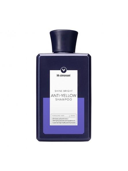 HH Simonsen Anti-Yellow šampūnas šviesintiems plaukams, 250 ml.