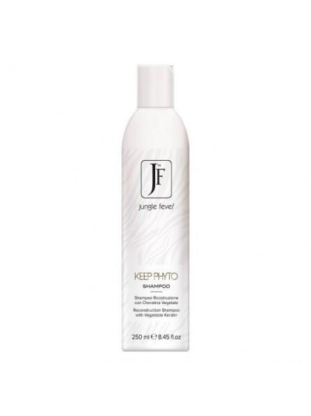 Jungle Fever KEEP PHYTO atstatantis šampūnas su augaliniu keratinu, 250 ml.