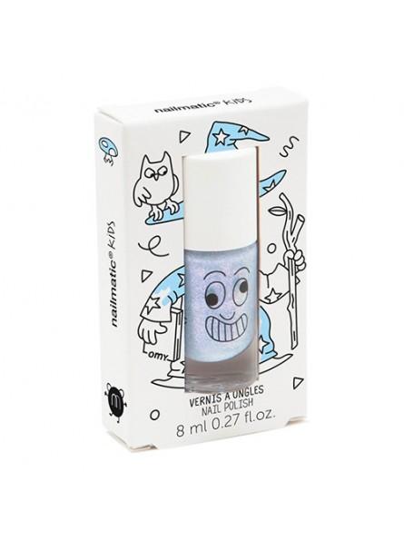 Nailmatic KIDS MERLIN Shimmer Nail Polish vandens pagrindo nagų lakas, 8 ml.