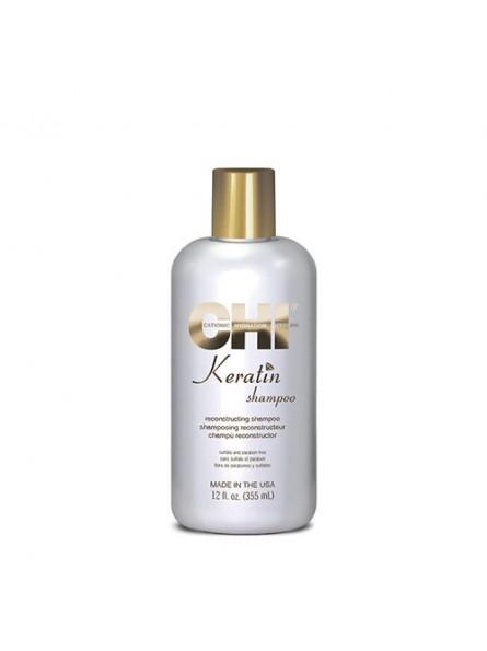 CHI KERATIN RECONSTRACTING šampūnas su keratinu, 355 ml.