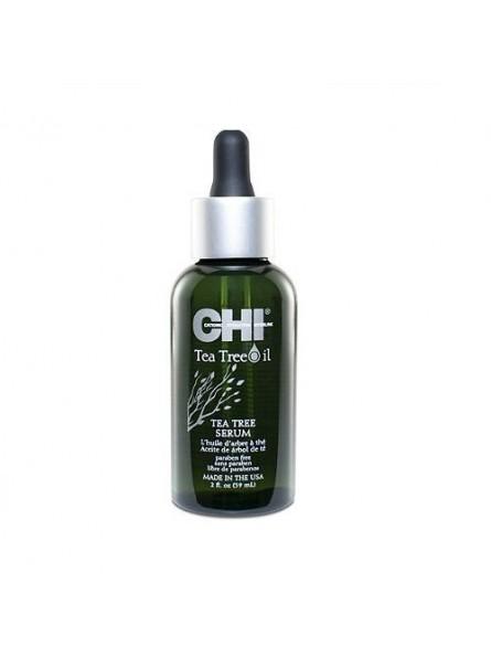 CHI TEA TREE OIL šilko švelnumo suteikiantis arbatmedžio plaukų galiukų serumas, 59 ml.