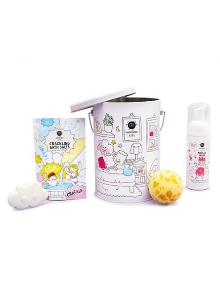 Nailmatic KIDS BATH BOX Dušo priemonių rinkinys vaikams