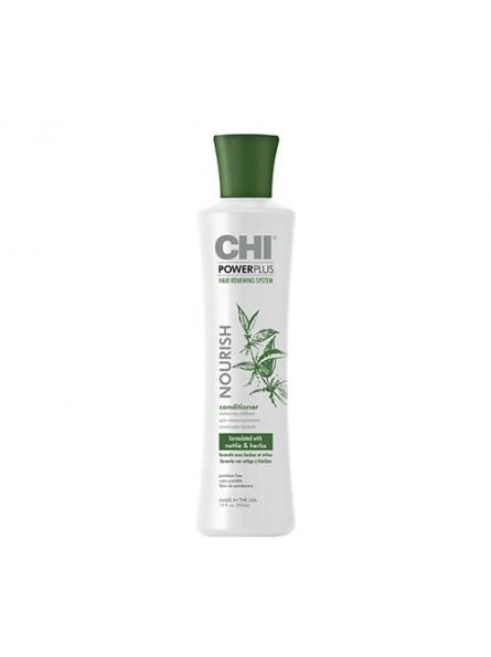 CHI POWER PLUS Maitinantis plaukus kondicionierius, 355 ml.