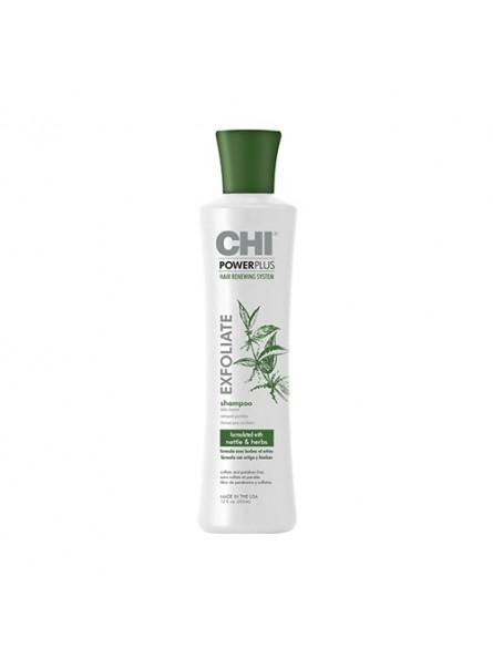 CHI POWER PLUS Šampūnas nuo plaukų slinkimo, 355 ml.