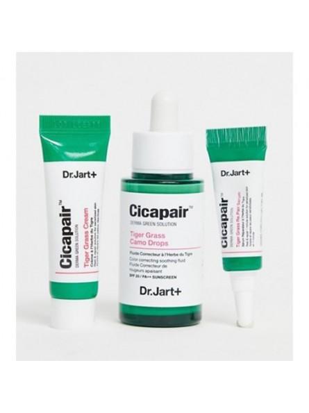 Dr.Jart+ CICAPAIR TIGER GRASS jautrios veido odos priežiūros priemonių rinkinys