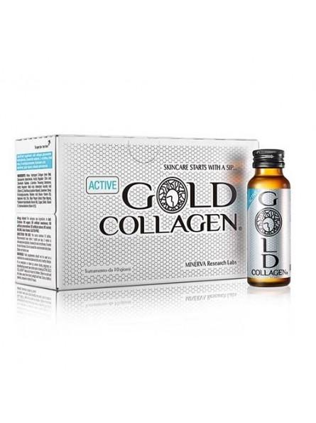 GOLD COLLAGEN ACTIVE geriamas kolagenas aktyviai gyvenantiems arba sportuojantiems žmonėms, 10x50 ml.