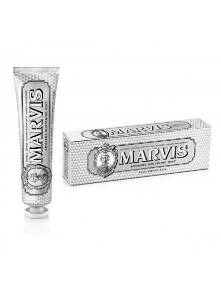 Marvis balinanti dantų pasta rūkantiems Smokers Whitening Mint, 85 g.