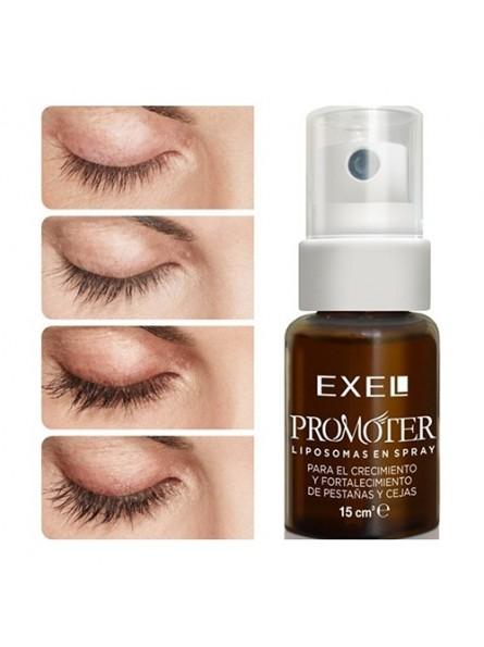 Exel Promoter serumas antakiams ir blakstienoms, 27 g.