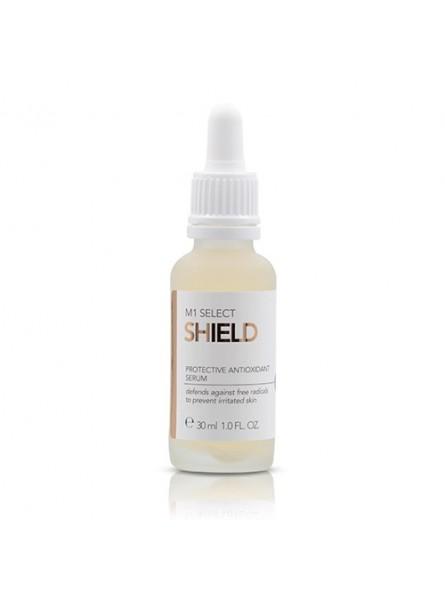M1 Select SHIELD regeneruojantis, nuo senėjimo apsaugantis serumas, 30 ml.