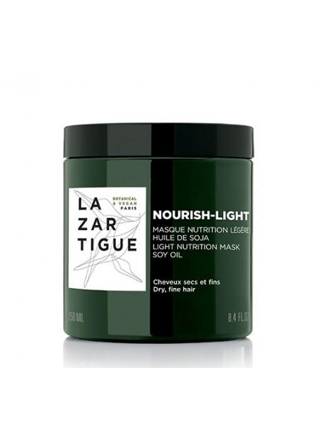 Lazartigue NOURISH LIGHT maitinanti kaukė ploniems, sausiems plaukams, 250 ml.