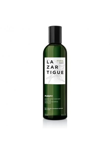 Lazartigue PURIFY valomasis šampūnas riebiai galvos odai, 250 ml.