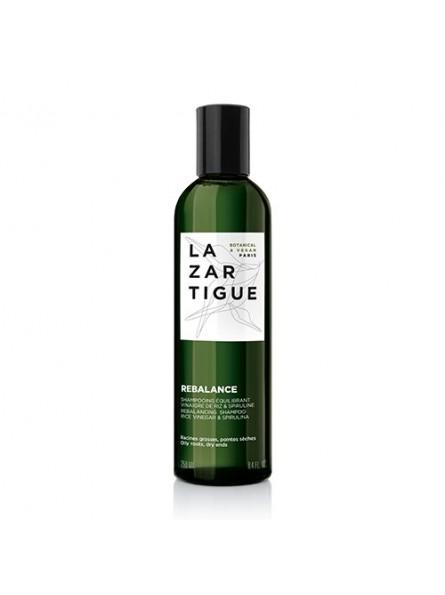 Lazartigue REBALANCE šampūnas riebiai galvos odai ir sausiems galams, 250 ml.