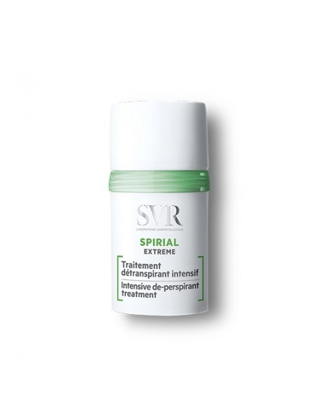 SVR SPIRIAL EXTREME intensyvaus poveikio antiperspirantas, 20 ml.