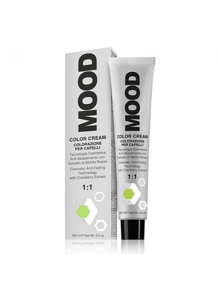 MOOD COLOR CREAM 11.10 EXTRA LIGHT ASH BLONDE plaukų dažai, 100 ml.