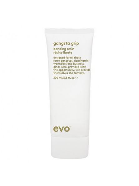 EVO GANGSTA GRIP labai stiprios fiksacijos plaukų formavimo guma, 200 ml.