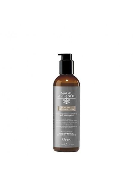 NOOK MAGIC ARGANOIL PROTEIN BOOSTER baltymų ir fitoproteinų busteris plaukų atstatymo procedūroms, 200 ml.