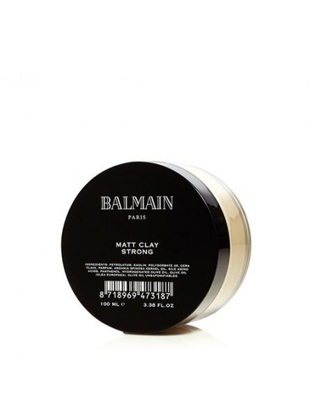 BALMAIN MATT CLAY STRONG stiprios fiksacijos matinis plaukų formavimo molis, 100 ml.