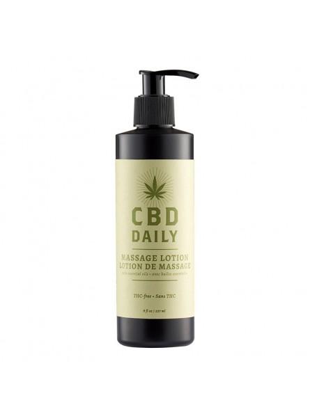 CBD Daily MASSAGE LOTION masažinis losjonas, 237 ml.