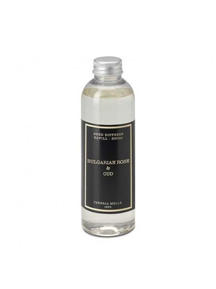 Cereria Molla BULGARIAN ROSE&OUD namų kvapo papildymas, 200 ml.