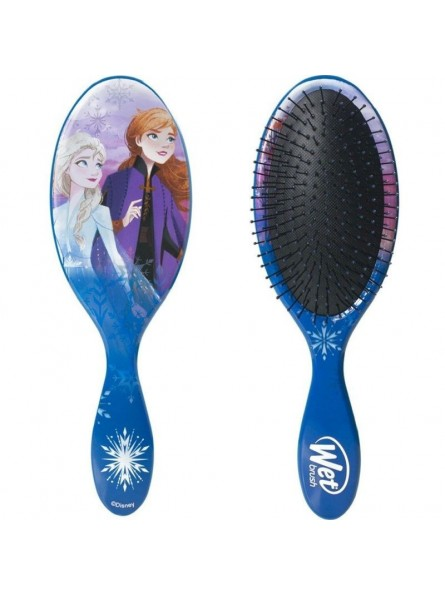 WetBrush Original Detangler ovalus plaukų šepetys Disney Frozen ANNA IR ELZA