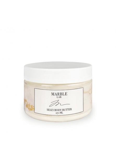 MARBLE LAB šilkinis kūno sviestas, 270 ml.