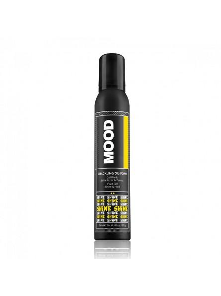 MOOD CRACKLING OIL-FOAM putos su aliejais plaukams, 200 ml.