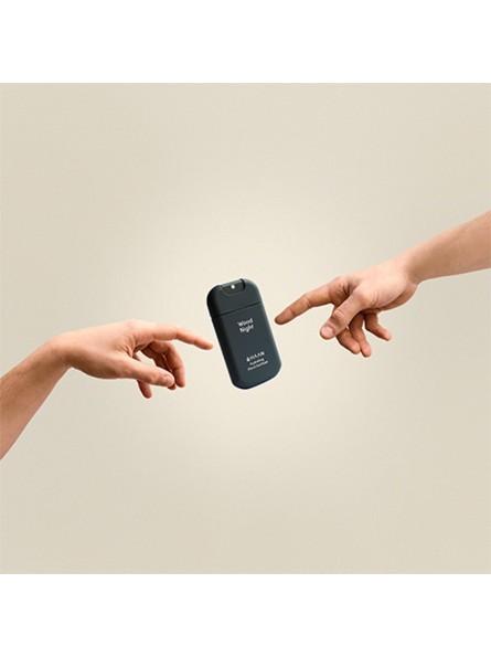 HAAN WOOD NIGHT drėkinantis rankų dezinfekcinis skystis, 30 ml.