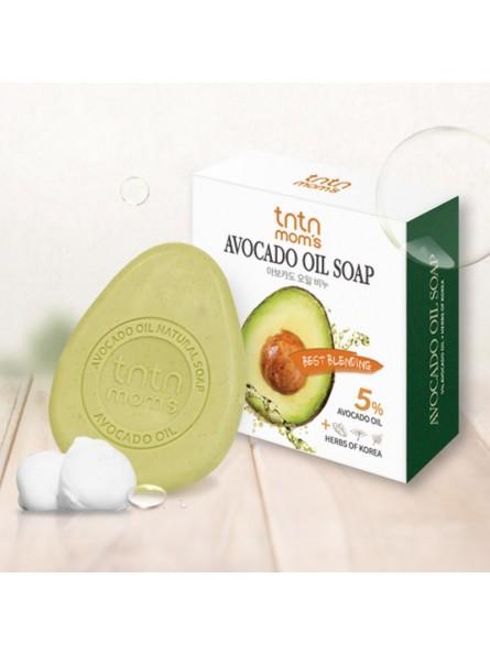 tntn mom's AVOCADO OIL SOAP avokadų aliejaus muilas, 100 g.