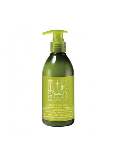 Little Green BABY SHAMPOO&BODY WASH šampūnas ir kūno prausiklis kūdikiams