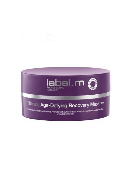 label.m THERAPY AGE-DEFYING atkuriamoji plaukų kaukė, 120 ml.