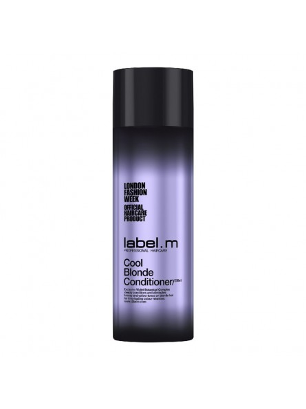 label.m COOL BLONDE kondicionierius šviesintiems plaukams, 200 ml.